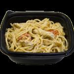 Спагетти с куриным филе в устричном соусе
