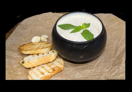 Суп-крем с белыми грибами